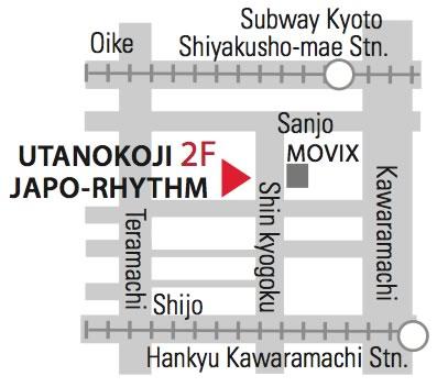 JAPO-RHYTHM accsessmap