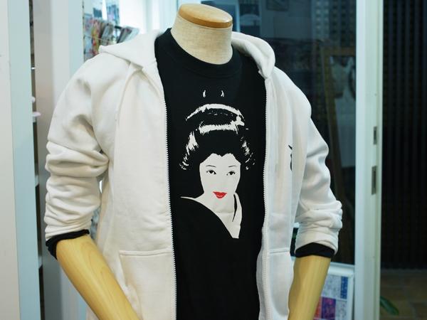 ジャポリズム京の芸子さんTシャツ